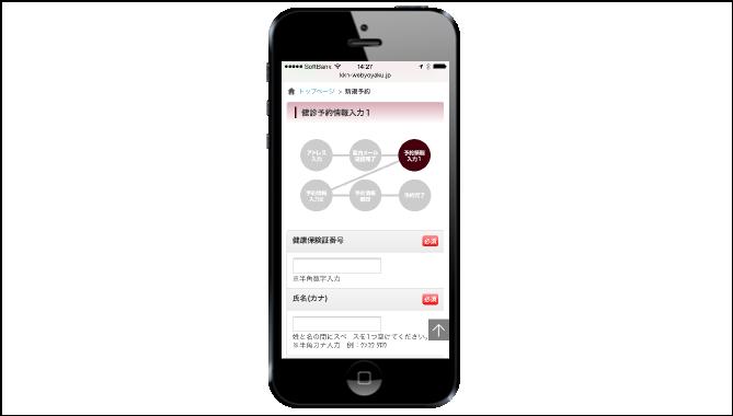 健康診断WEB予約システム